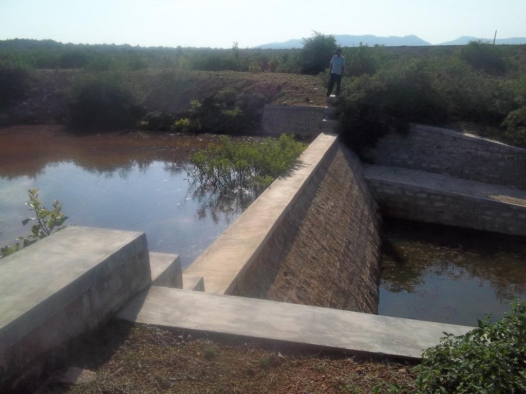 Check dam constructed at Prakashpalya