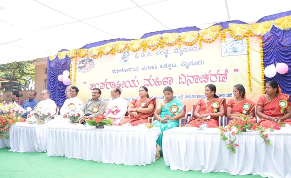 International Womens Day 2014, Dignitaries on the Dias