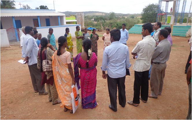 Exposure visit to Mariyamangala by water & sanitation team