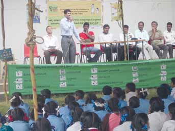Child Line Orientation Program in 2011 - ODP Mysore