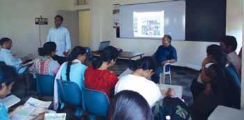 Dr. Latha Bhaskar visit at ODP Mysore - 2011