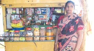 FDP - Success Story - Helen Mary, a widow aged 46 - ODP Mysore