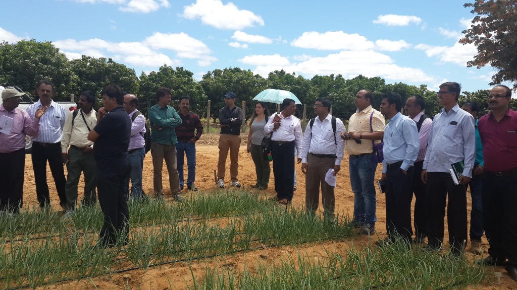 Director, ODP participating in NABARD International Exposure visit to Brazil to study Semi arid Watershed and Sustainable Development.