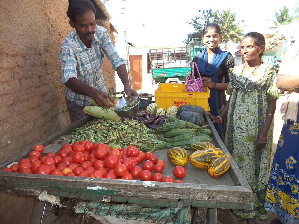 IGP activity - Vegetable vending under FDP