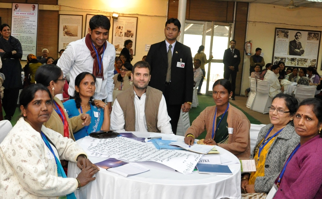 Mr. Rahul Gandhi Visit for the Hunger Project