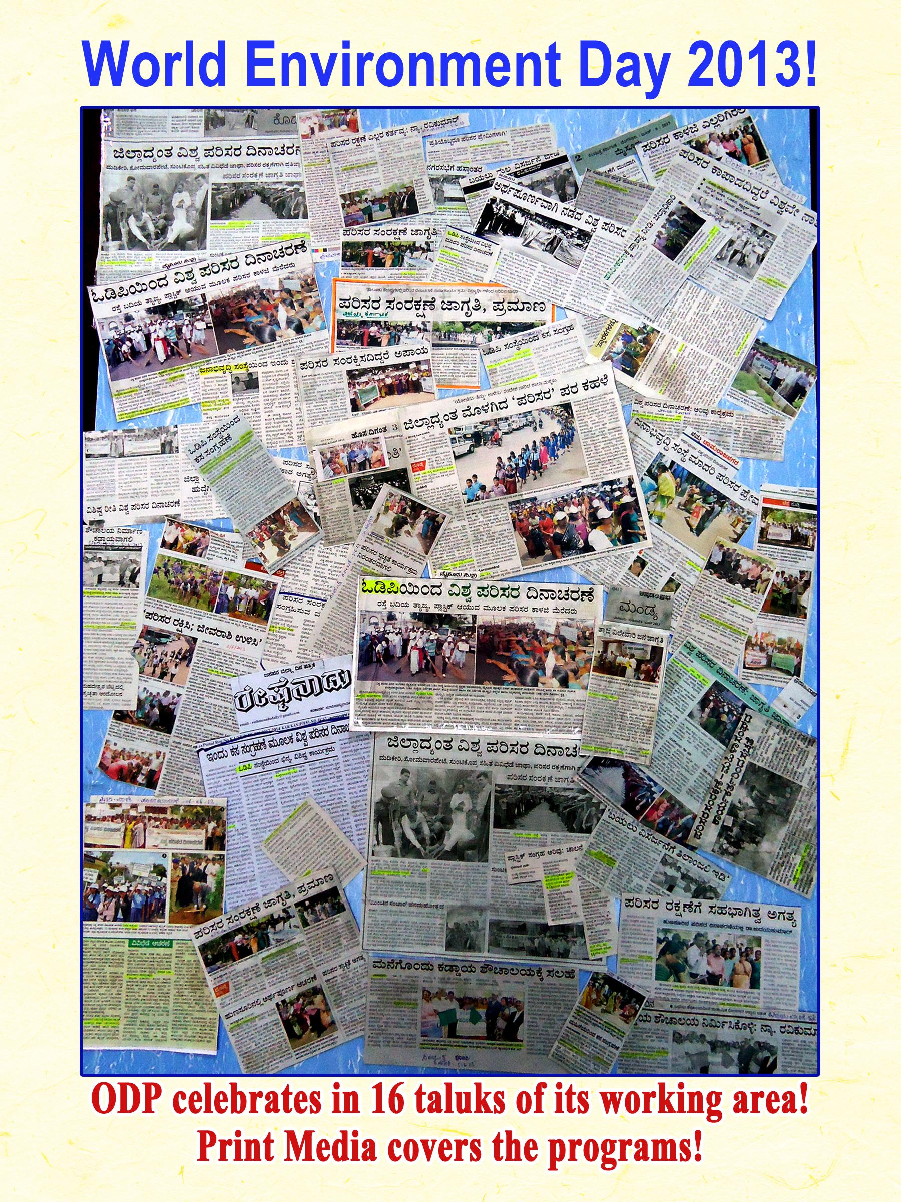 Print Media Coverage